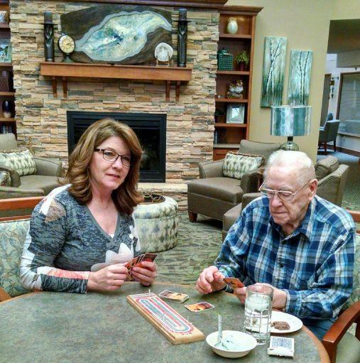 Man with alzheimers care services in Minneapolis, MN