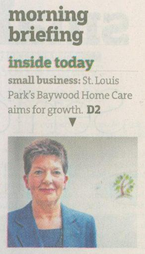 StarTribune-Minneapolis-DorothyMuffett-Baywood Home Care