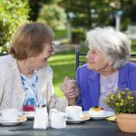 Social interaction helps elderly loved ones to live a healthier life